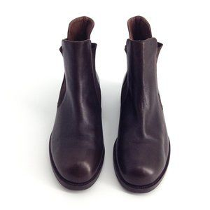 HENRY BEGUELIN x Barneys Ankle Leather Boots